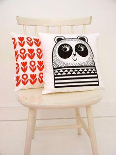 Mr Panda Cushion