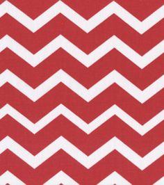 Keepsake Calico Fabric-Red & White ChevronKeepsake Calico Fabric-Red & White Chevron, $4.19 /yard (reg 5.99)