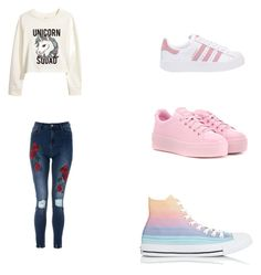 """Untitled #7"" by delianita on Polyvore featuring interior, interiors, interior design, home, home decor, interior decorating, H&M, adidas Originals, Kenzo and Converse"