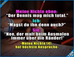 Man wird schon früh aussortiert! ^^'  #Liebe #Kinder #mögen #Humor #lustigeSprüche #Jodel #lustigeBilder #lustig #Friendzone