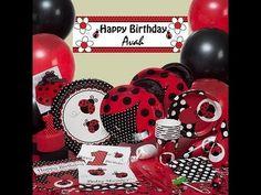 ladybug birthday par