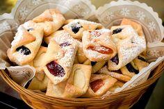 Culinária Polonesa: Kolaczki - biscoito tradicional na Polônia