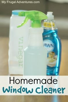 to Make Homemade Window Cleaner Quick and Easy Homemade Window Cleaner. No nasty chemicals and this works better then the stuff you buy!Quick and Easy Homemade Window Cleaner. No nasty chemicals and this works better then the stuff you buy!
