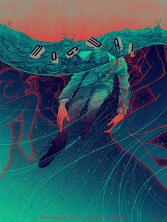 Mogwai by Kevin Tong. See more great gig posters here: http://www.creativebloq.com/design/gig-posters-912720