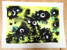 Chaos VI by wormulus on Etsy, $75.00