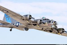 B-17 WWII Bomber--my grandpa worked on and flew one of these during the Vietnam war.