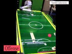 High Speed Intelligent Air Hockey Robot | Shareable Fun