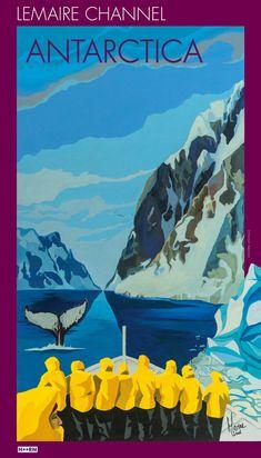 Lemaire Channel, Antarctica Artist: Marine Israel