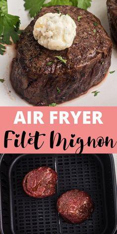 Tender Steak, Juicy Steak, Best Cut Of Steak, Blue Cheese Butter, Steak Dinner Recipes, Air Fryer Steak, Air Frier Recipes, Perfect Steak, Air Fryer Recipes Easy