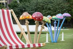 Mushroom Cluster, Alice in Wonderland Party Theme | Props, Ideas, Decorations & Supplies