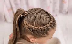 Easy Braid Video Tutorials for Kids! – Flechtfrisuren – Easy Braid Video Tutorials for Kids! Girls Hairdos, Kids Braided Hairstyles, Box Braids Hairstyles, Little Girl Hairstyles, Cute Hairstyles, Doll Hairstyles, Braids For Kids, Girls Braids, Toddler Hair
