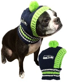NFL Seattle Seahawks Knit Dog Ski Hat Is your pup game day ready  Be the  first in your pack to have the latest in NFL pup gear! Support you favorite  team ... 210967be5