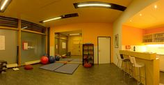 Basketball Court, Wellness, Spaces, Gymnastics