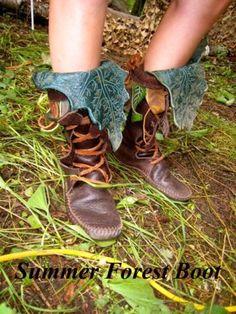 Mid-Calf Forest Boot / Tall Moccasin Hand por TreadLightGear