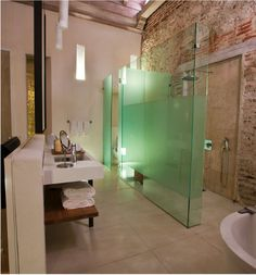 Tcherassi Hotel Spa i would want this bathroom McKenzie Owens · Dream Spa Business Ideas