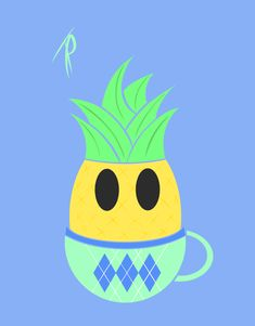 Pineapple Tea Pineapple Tea, Pikachu, Fictional Characters, Art, Art Background, Kunst, Performing Arts, Fantasy Characters