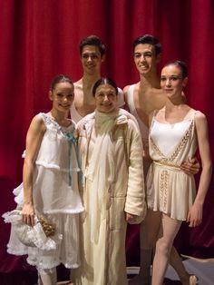 Carla Fracci at the La Scala Theatre Ballet School celebrations