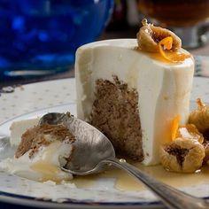 steliosparliaros sweetalchemy glykesalchimiesofficial pastry karidopita pecanpie cream yoghurt new greece Fig, Pudding, Cream, Instagram, Sweet, Desserts, Creme Caramel, Candy, Tailgate Desserts