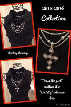 Dress the Part and Divinity enhancer from Premier Designs 2015-2016 jewelry line