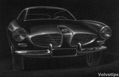 Volvo_P1800_prototype_sketch_Frua_Ghia_Petterson