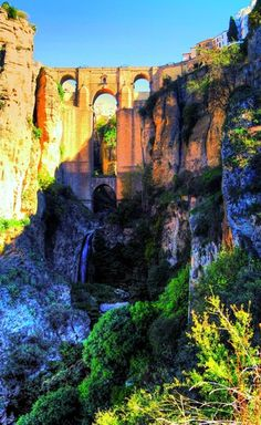 Ronda, Spain  (oh, what a place! we visited during the Seville in 1992!)