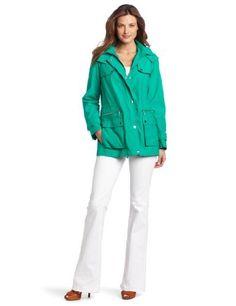 Calvin Klein Women's Short Anorak Jacket Calvin Klein. $149.50. Women's jacket. Dry Clean Only. Anorak. 100% Polyester. Made in China