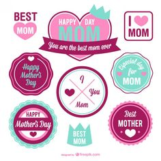 Elements graphiques - mother's day