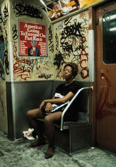 nyc subway / 1980s