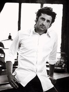 Patrick Dempsey...couldn't decide if he should be pinned here or under Yummy!...lol