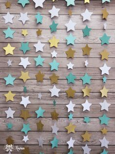 Cortina de estrellas Baby Bash, Baby Shawer, Ideas Decoracion Cumpleaños, Fabric Stars, Star Gift, Graduation Party Decor, Boy Decor, Party Stores, Diy Home Crafts