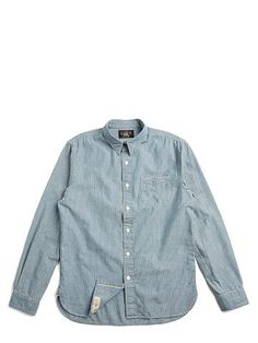 Railman Slim Chambray Shirt - RRL Standard Fit - RalphLauren.com