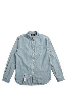 Railman Slim Chambray Shirt - RRL Standard Fit - RalphLauren.com