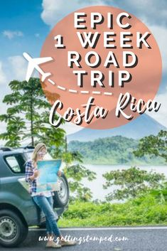 #CostaRica is a country full of amazing landscapes and some epic adventures. One of the best ways to get a small taste of everything is to rent a car in Costa Rica and head off on a road trip. That is exactly what we did on our recent trip in Costa Rica || Getting Stamped - Couple #Travel & #Photography #Blog