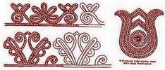 A KALOTASZEGI ÍROTT HÍMZÉS: magyar térrendezés, kisírottas, nagyírottas, minta, képírás, vetett ágy, fodorvászon Hungarian Embroidery, Folk Embroidery, Learn Embroidery, Embroidery For Beginners, Hand Embroidery Designs, Embroidery Techniques, Embroidery Patterns, Stitch Head, Last Stitch