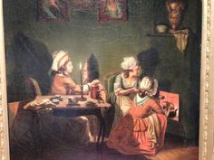 Working women in late 18th century Sweden