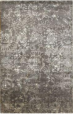 Beautiful! Silver Mamluk Oriental Rug by Landry  Arcari  I FOUND INTERCON CARPET HAHA