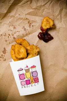 Cupcake Nuggets - So Sinful, So Worth It - Perfect for April Fool's Day | Cupcake Project