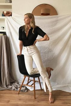 effortless minimalist outfit ideas to freshen up your spring wardrobe . - effortless minimalist outfit ideas to freshen up your spring wardrobe # … – Juna Ro - Instagram Outfits, Instagram 4, Looks Chic, Looks Style, Mode Outfits, Fashion Outfits, Fashion Trends, Fashion Hacks, Fashion Shoes