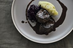 Venison with red wine chocolate sauce recipe from Fisher & Paykel Social Kitchen