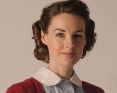 Headshot of Jessica Raine as Jenny Lee in Call The Midwife