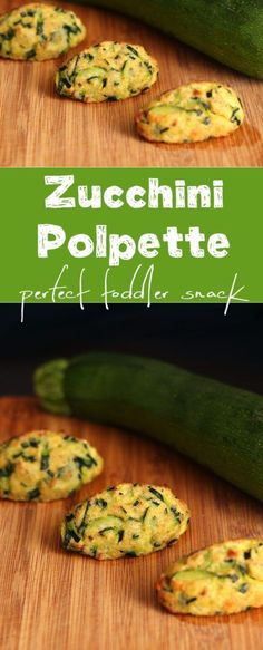 This recipe is great for baby-led weaning. Quick, simple and delicious, these zucchini polpette make a perfect lunch for you and your toddler.