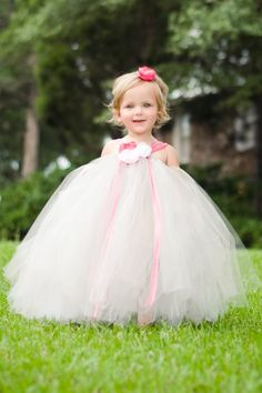 Toddler Flower Girl Tutu DressSilver Gray by BellaBeanCouture, $105.00