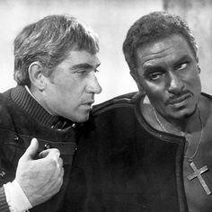 Frank starred alongside Laurence Olivier in Othello [Wenn]