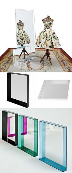 Kartell Mirror Only Me Inspiration Accessories Interior Design Home decor architecture NYC  http://atelierarmbruster.com