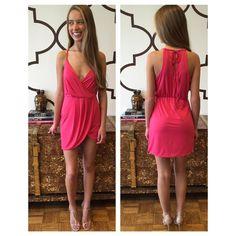 LOVERS + FRIENDS MUSE DRESS ROSE www.splashtribe.com