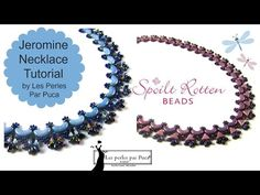 Jeromine Necklace Tutorial - YouTube