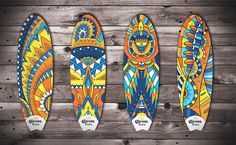 Cerveza Corona Surfboards on Behance