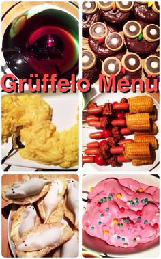Amazing original ideas for Gruffalo party food!