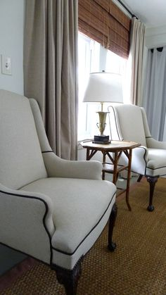 Love the chairs! credit: An Urban Cottage