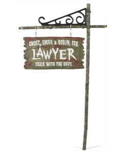Lawyer Sign $24.99 Accident lawyers